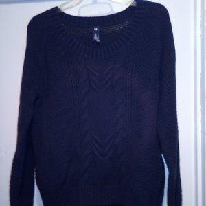 Blue Ladies Sweater